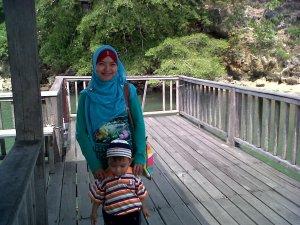 saya dan Yusuf di Tanjung Pallette