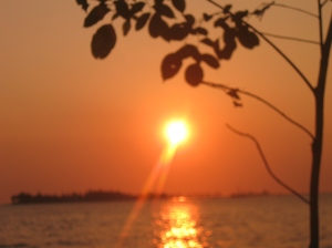 Sunset di losari (1)